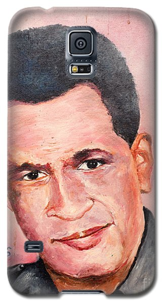Galaxy S5 Case featuring the painting Self Portrait Of Me by Jason Sentuf