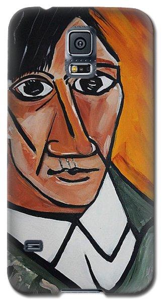 Self Portrait Of Picasso Galaxy S5 Case