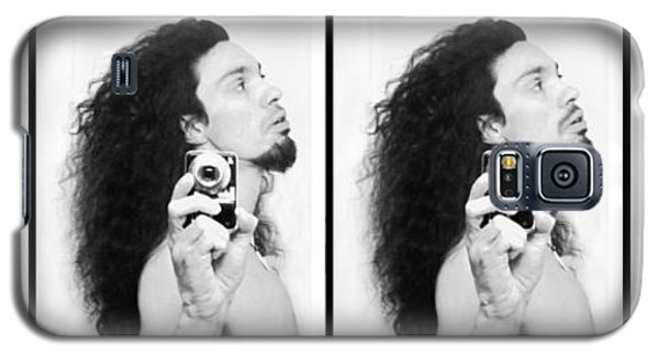 Self Portrait Progression Of Self Deception Galaxy S5 Case by Shawn Dall