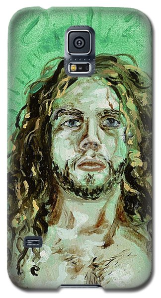 Self Portrait -with Emerald Green And Mummy Brown- Galaxy S5 Case