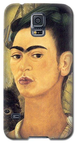 Self Portrait With Monkey  Galaxy S5 Case