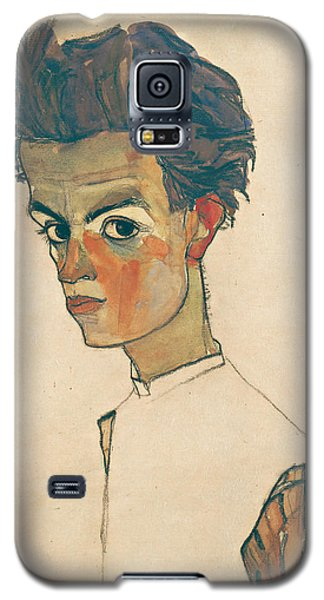 Self-portrait With Striped Shirt Galaxy S5 Case