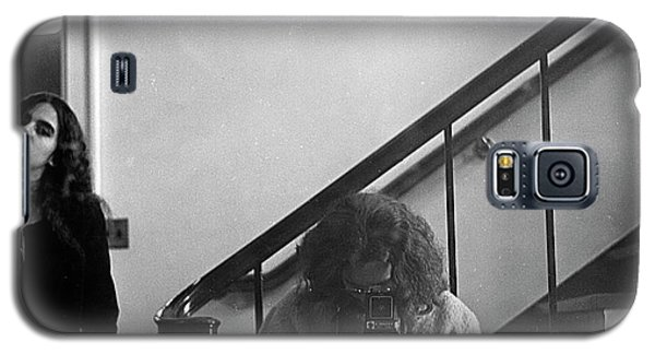Self-portrait, With Woman, In Mirror, Cropped, 1972 Galaxy S5 Case