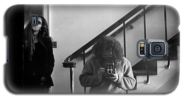 Self-portrait, With Woman, In Mirror, Full Frame, 1972 Galaxy S5 Case