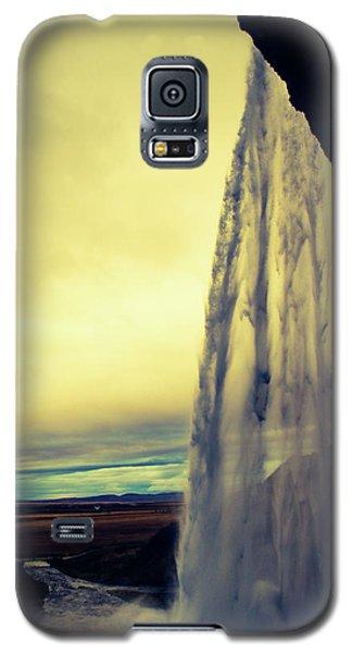 Seljalandsfoss Sunset Galaxy S5 Case