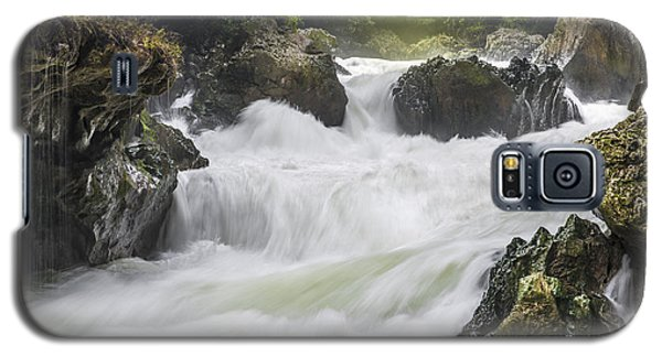 Galaxy S5 Case featuring the photograph Semuch-champey River And Waterfalls by Yuri Santin