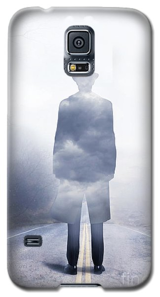 Galaxy S5 Case featuring the digital art Send In The Clouds by Shanina Conway