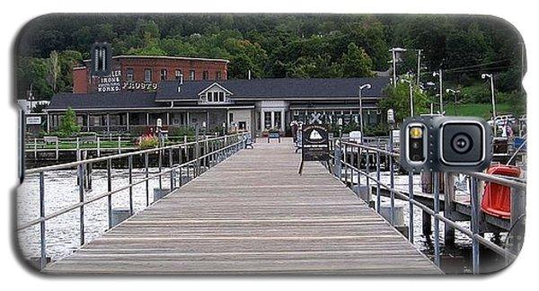 Seneca Lake Pier Watkins Glen New York Galaxy S5 Case