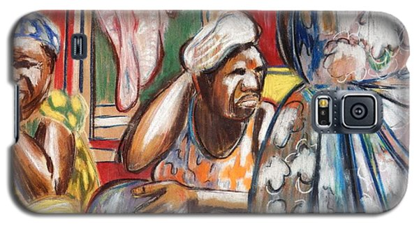 Galaxy S5 Case featuring the painting Senegal, 1965 by Gary Coleman