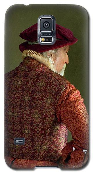 Senior Tudor Man Galaxy S5 Case by Lee Avison