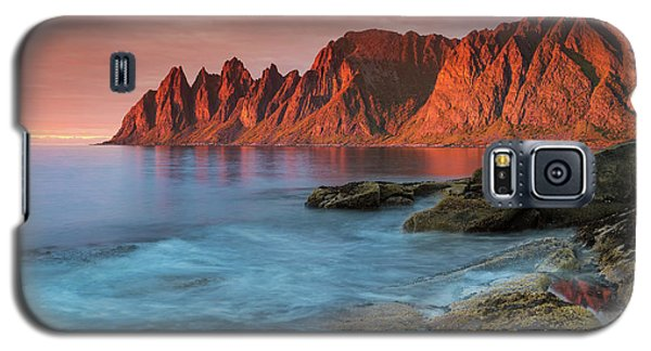 Senja Red Galaxy S5 Case