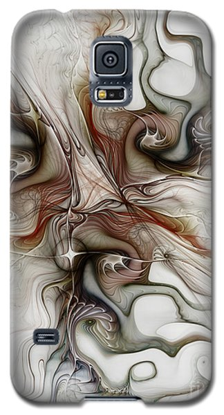 Galaxy S5 Case featuring the digital art Sensuality by Karin Kuhlmann