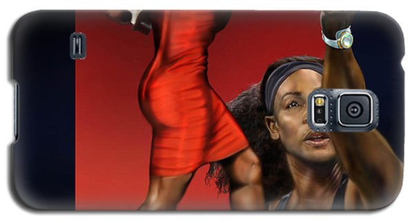 Sensuality Under Extreme Power - Serena The Shape Of Things To Come Galaxy S5 Case