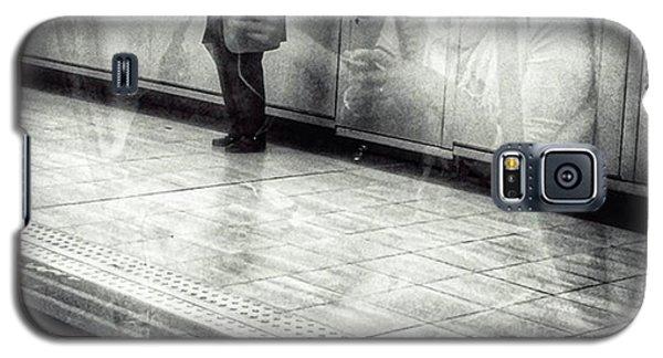 Señor #metro #underground #subway Galaxy S5 Case by Rafa Rivas
