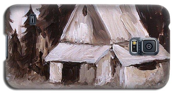 Sepia Barn Galaxy S5 Case