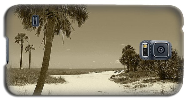 Sepia Beach Galaxy S5 Case