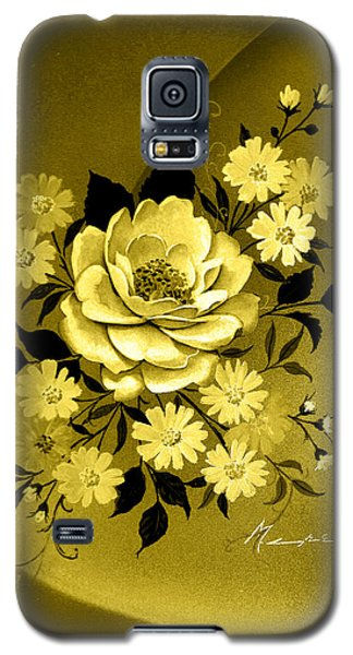 Sepia Bouquet Galaxy S5 Case