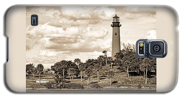 Sepia Lighthouse Galaxy S5 Case