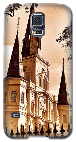 Sepia St. Louis Cathedral Galaxy S5 Case