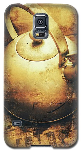 Sepia Toned Old Vintage Domed Kettle Galaxy S5 Case