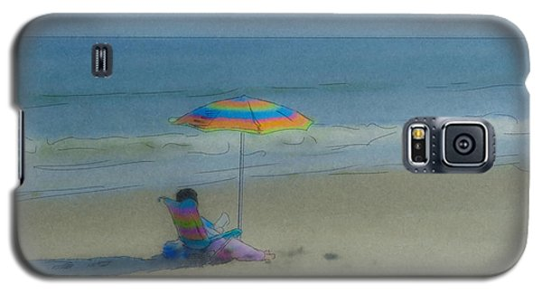 September Beach Reader Galaxy S5 Case