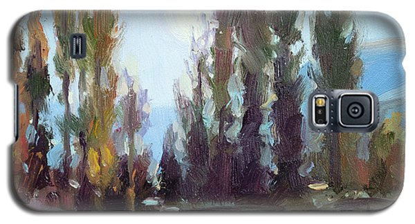 Impressionism Galaxy S5 Case - September Moon by Steve Henderson
