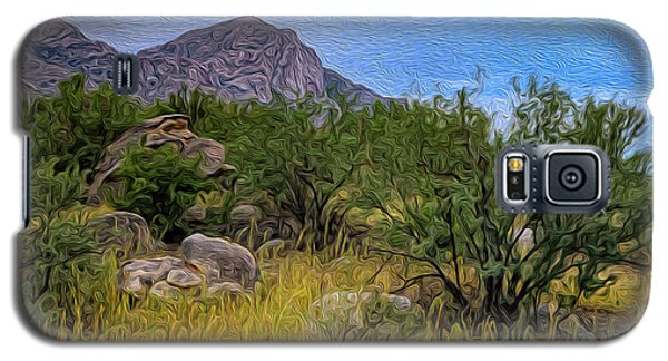 Galaxy S5 Case featuring the photograph September Oasis No.2 by Mark Myhaver