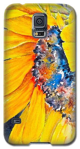 September Sunflower Galaxy S5 Case