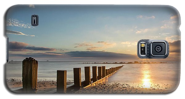 September Sunrise At Aberdeen Beach Galaxy S5 Case