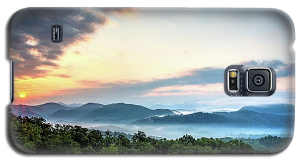 Galaxy S5 Case featuring the photograph September Sunrise by Douglas Stucky
