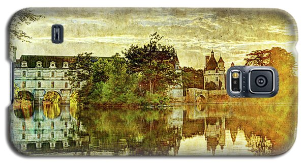 September Sunset In Chenonceau - Vintage Version Galaxy S5 Case