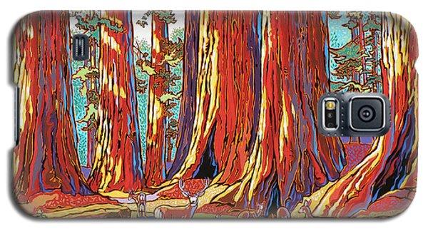 Sequoia Deer Galaxy S5 Case