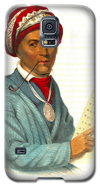 Galaxy S5 Case featuring the photograph Sequoyah 1838 by Padre Art
