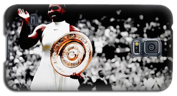 Serena 2016 Wimbledon Victory Galaxy S5 Case by Brian Reaves