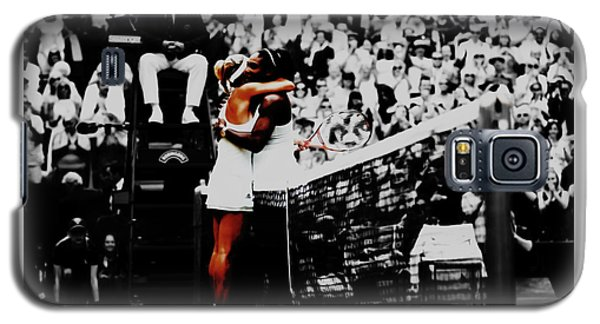 Serena Williams And Angelique Kerber Galaxy S5 Case by Brian Reaves