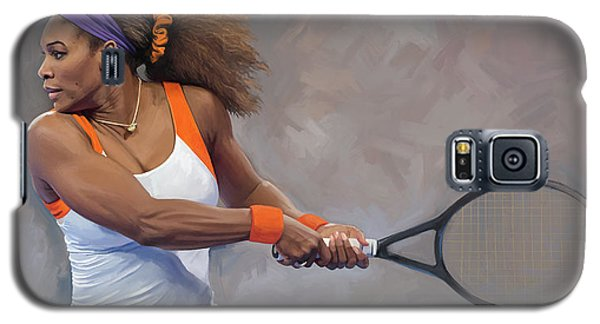 Serena Williams Galaxy S5 Case - Serena Williams Artwork by Sheraz A