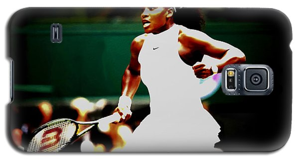 Serena Williams Making History Galaxy S5 Case by Brian Reaves