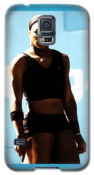 Serena Williams Match Point IIi Galaxy S5 Case by Brian Reaves