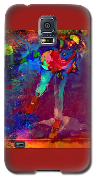 Serena Williams Return Explosion Galaxy S5 Case by Brian Reaves
