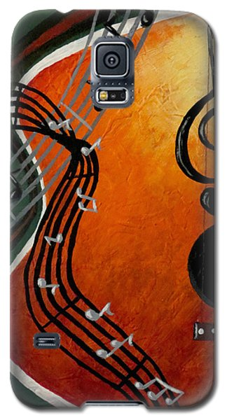 Galaxy S5 Case featuring the painting Serenade by Teresa Wing
