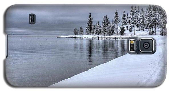 Serene Beauty Of Lake Tahoe Winter Galaxy S5 Case
