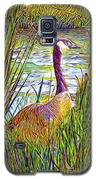 Serene Goose Dreams Galaxy S5 Case by Joel Bruce Wallach