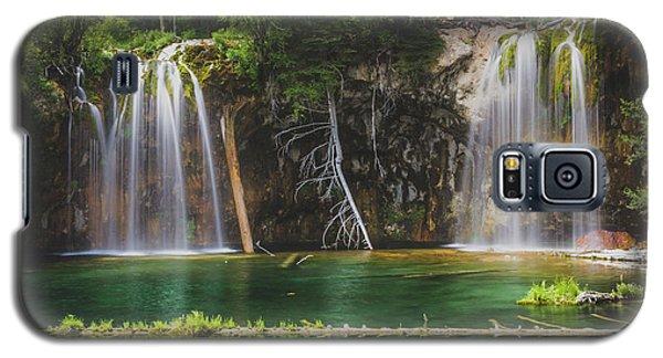 Serene Hanging Lake Waterfalls Galaxy S5 Case