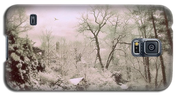 Galaxy S5 Case featuring the photograph Serene In Snow by Jessica Jenney