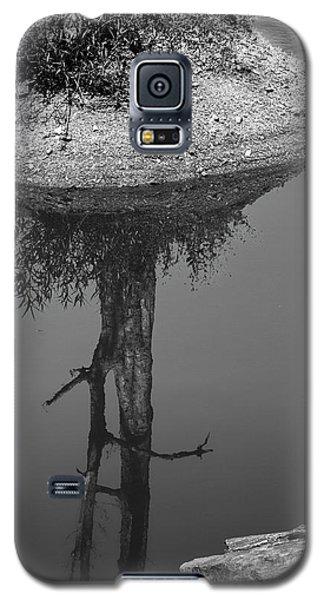 Galaxy S5 Case featuring the photograph Serene Reflection, Nagzira, 2011 by Hitendra SINKAR