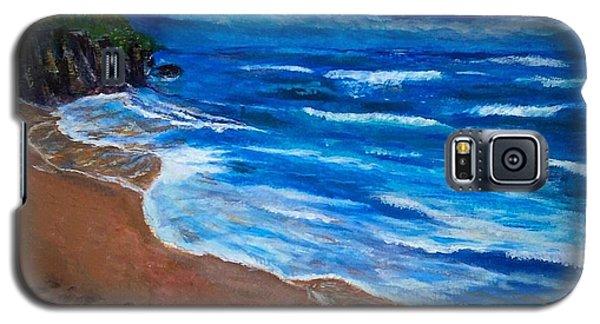 Serene Seashore Galaxy S5 Case