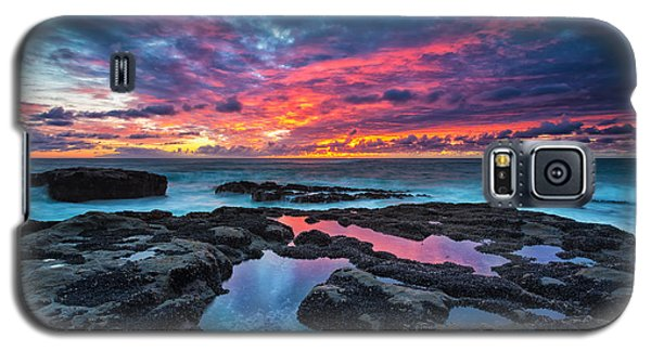 Serene Sunset Galaxy S5 Case by Robert Bynum