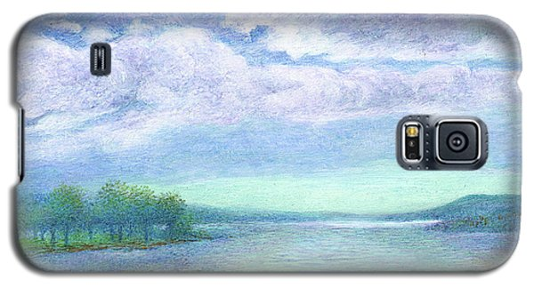 Serenity Blue Lake Galaxy S5 Case