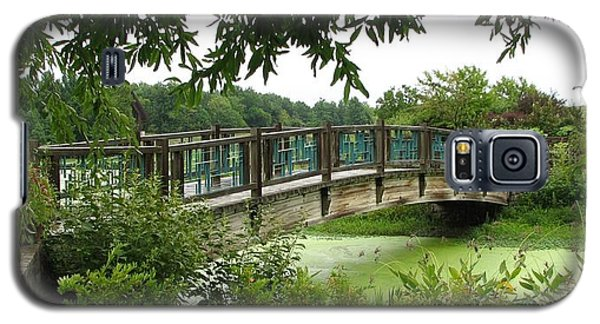 Galaxy S5 Case featuring the photograph Serenity Bridge by David Dunham
