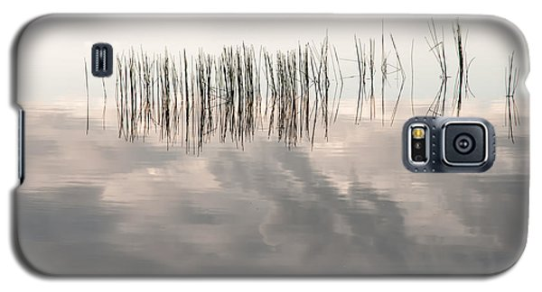 Serenity Dwells Here Where Tranquil Water Flow Cloaked  In Hues Of Love Galaxy S5 Case by Jenny Rainbow
